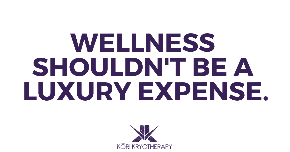 Wellness is a luxury you cant afford to miss.